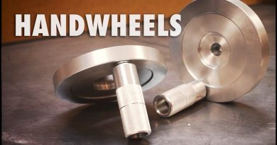 Making Milling Machine Handwheels 4