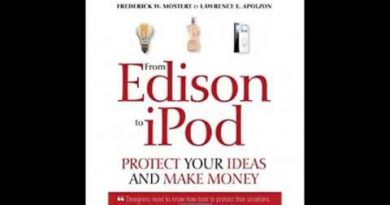 From Edison to iPod Protect your ideas and make money 3