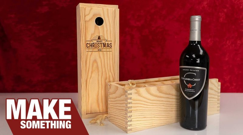 Easy to Make Finger Joint Wine Boxes | Christmas Gift & Craft Show Ideas 1