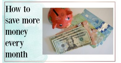 How to save money | 5 easy ways to save more money every month 4