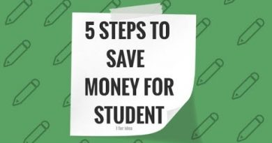 How to save money as a student//Best 5 ideas to save money for students//i for idea 3