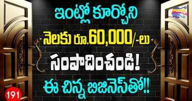 Small business ideas at home telugu | Profitable new home business idea in telugu - 191 3