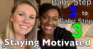 Staying Motivated on Dave Ramsey's Baby Step 2 to Baby Step 3 3