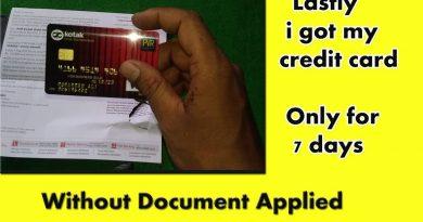 811 kotak mahindra bank  credit card unboxing / kotak 811 business gold credit crad, 4