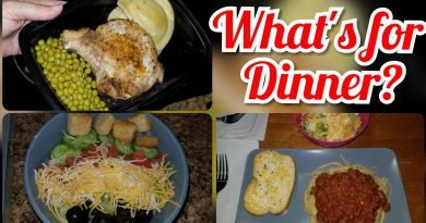 EASY DINNER IDEAS FOR THE WEEK - Cutelittlecupcakes mom 4