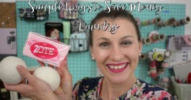 Simple Ways To Save Money Episode 2 | Laundry and Clothing 4