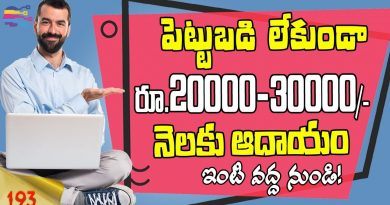 Online Business ideas in telugu | Earn money online from home telugu | SHOP101 - 193 2