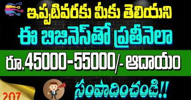 Top business ideas in telugu | how to earn with hand sanitizer making business in telugu - 207 3