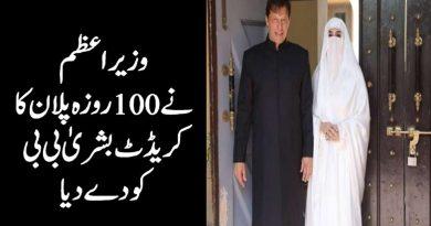 Imran Khan Said 100 Days Plan Credit Goes To Bushra Bibi 4