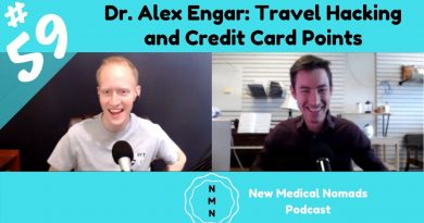 Ep. 59 Dr. Alex Engar: Travel Hacking and Credit Card Points 2