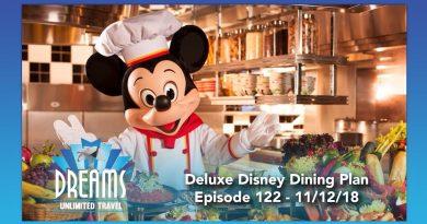 Deluxe Disney Dining Plan Information   11/12/18 4