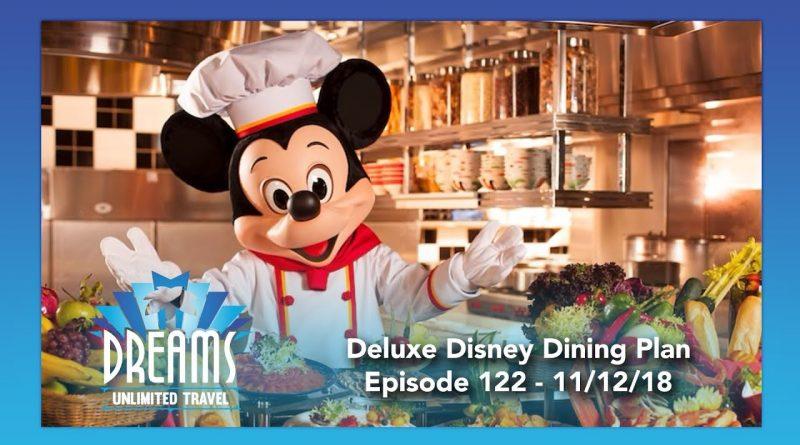 Deluxe Disney Dining Plan Information | 11/12/18 1