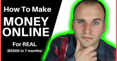 How To Make Money Online - For REAL ($500K in 7 months) 3