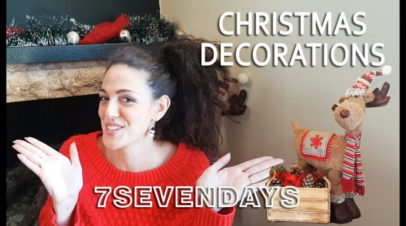 HOW TO DECORATE FOR CHRISTMAS IN A TINY HOUSE SAVING MONEY 1
