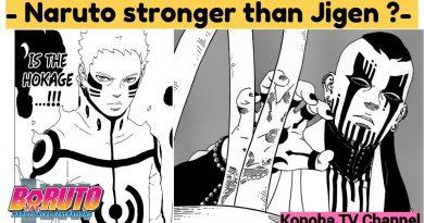 Naruto stronger than Jigen? Why Jigen have Karma? 2