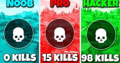 NOOB vs PRO vs HACKER in Fortnite Battle Royale! 3