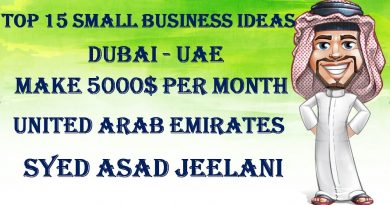 TOP 15 SMALL BUSINESS IDEAS IN DUBAI - UAE MAKE MONEY 5000$ PER MONTH 3