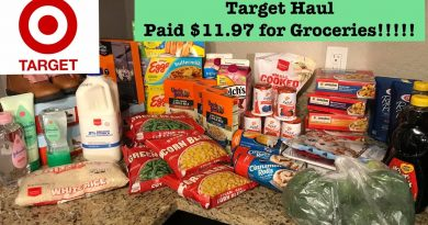 Target Extreme Couponing Haul! Paid $11.97 for Groceries!!!! 3