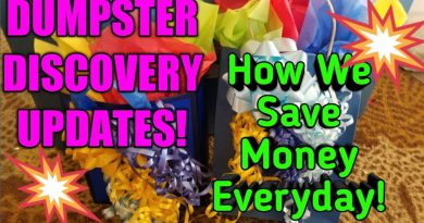 DUMPSTER DISCOVERY UPDATES! More Ways We Save Money With Dumpster Diving! 4