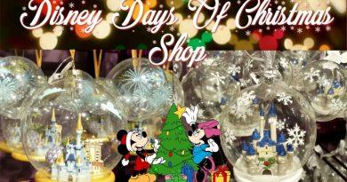 DISNEY'S DAYS OF CHRISTMAS SHOP   DISNEY ORNAMENTS   DISNEY SPRINGS ORLANDO 3
