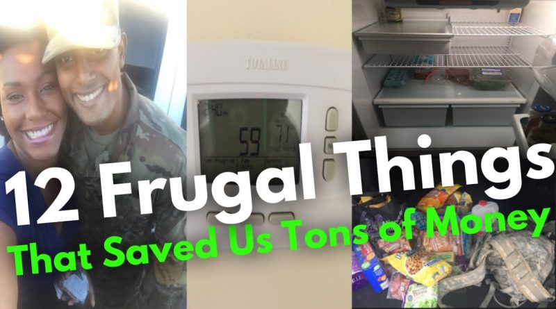 12 Frugal Things That Saved Us a TON of Money This Month 1