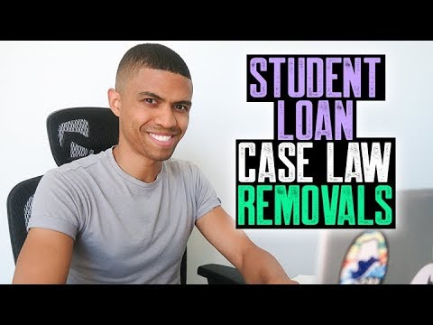 STUDENT LOAN CASE LAW REMOVALS || FREEZE BUREAUS FREE 1