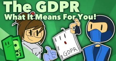 The GDPR - What It Means For You! (Developers AND Players!) - Extra Credits 3