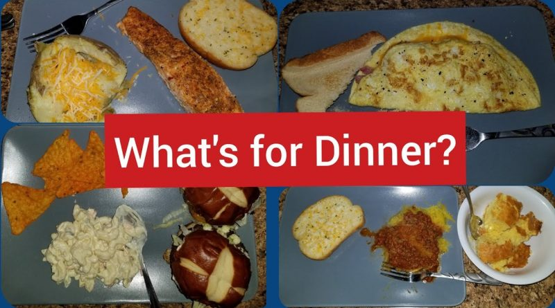 WHAT'S FOR DINNER? | 5 DINNER IDEAS | MUST WATCH LAST ONE! 1