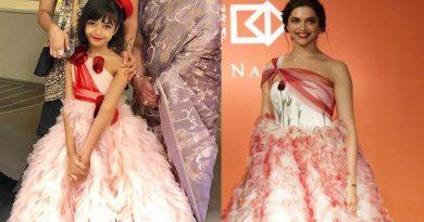 Aishwarya's Daughter Aaradhya Bachchan Twinning with Deepika Padukone | Aaradhya Bachchan 2