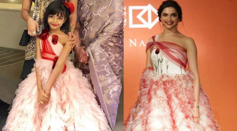 Aishwarya's Daughter Aaradhya Bachchan Twinning with Deepika Padukone |  Aaradhya Bachchan 1
