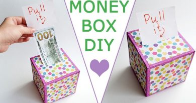 WOW! MONEY BOX | Surprise your family and friends! | DOLLAR IDEA Craft & Gift Tutorial DIY 3