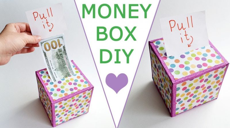 WOW! MONEY BOX | Surprise your family and friends! | DOLLAR IDEA Craft & Gift Tutorial DIY 1