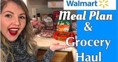 GROCERY MEAL PLAN & WALMART GROCERY HAUL || 12/9-12/15 3