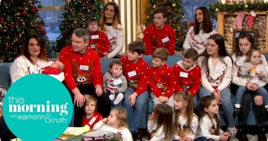 The Radfords Are Back with Their 21st Child! | This Morning 4
