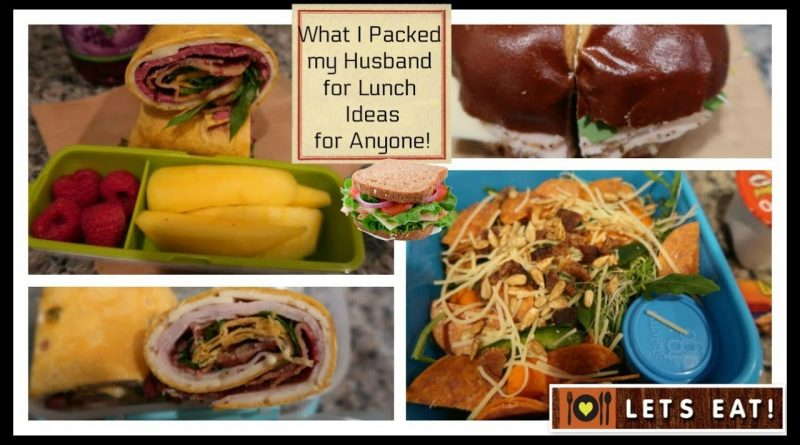 What I packed my Husband for Lunch | Money Saving Lunch Ideas 1