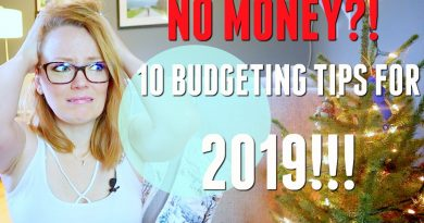 HOW TO BUDGET AND SAVE MONEY | 2019 2