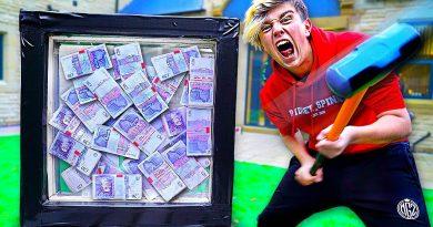 Destroy The Unbreakable Box, Win $50,000 - Challenge 2