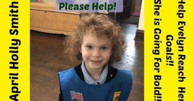 Help Evelyn Reach Her Goal | Go For BOLD!| April Holly Smith 4