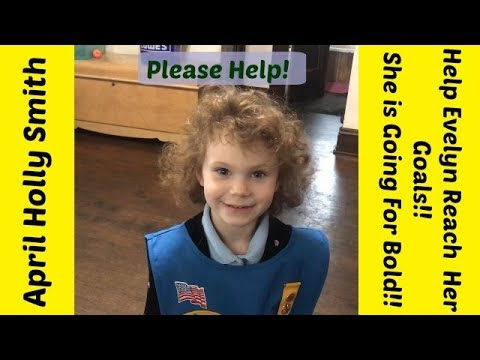 Help Evelyn Reach Her Goal | Go For BOLD!| April Holly Smith 1