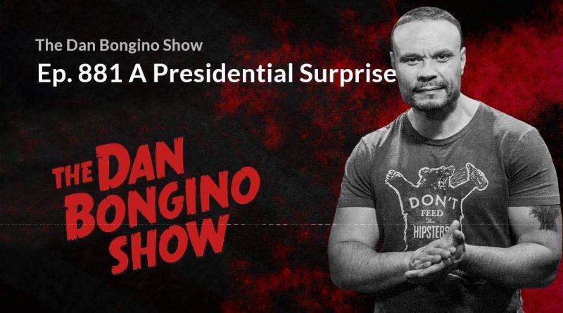 Ep. 881 A Presidential Surprise. The Dan Bongino Show 12/27/2018. 1