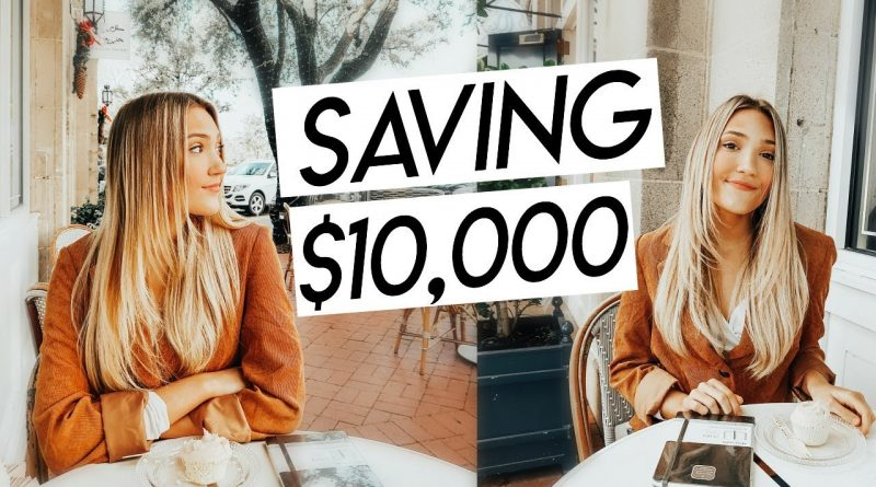 how to save $10,000 from scratch | budgeting, personal finances, and saving in college! 1