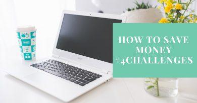 How To Save Money | 4 Saving Challenges #savemoney 4