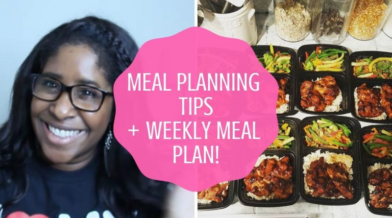 How to Meal Plan to Save Money! My Weekly Meal Plan! 1