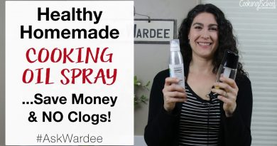 Healthy Homemade Cooking Oil Spray... Save Money & NO Clogs! #AskWardee 121 2