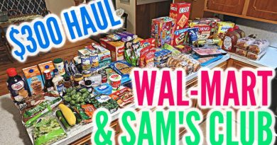 LARGE FAMILY WEEKLY GROCERY HAUL / SAM'S CLUB + WAL-MART 2