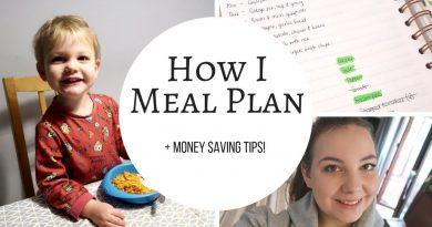 HOW I MEAL PLAN | MONEY SAVING TIPS 3