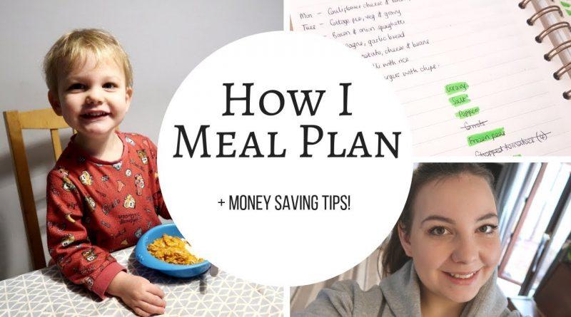 HOW I MEAL PLAN | MONEY SAVING TIPS 1