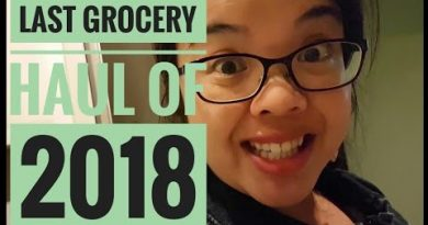 Last Grocery Haul of 2018 | How I save $$ on groceries 3
