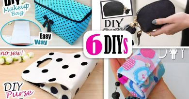 6 DIYs BEST BAG IDEAS NO SPEND MONEY // Cute Purse Bag Tutorial Easy 4
