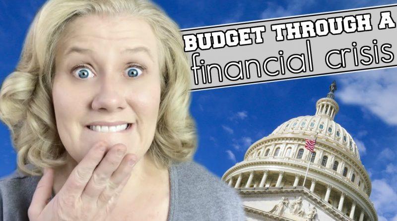 Family Budget Plan in EveryDollar: Budgeting Through A Financial Crisis 1